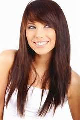 ... hairstyles side swept ponytail hairstyles thick side swept bangs