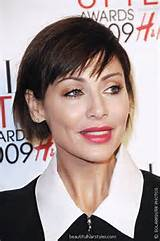 short wedge haircut is a classic short haircut which works well for ...