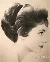 1956 soft waves hairstyle