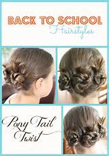 ... Tagged: back to school , Back to School Hairstyles , Pony Tail Twist