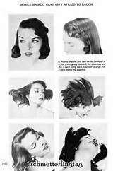 Vintage 1950s ATOMIC Hairstyles Create 50s Hair Book