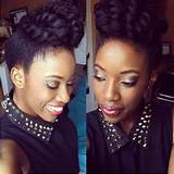 Top Bun with a Twist Natural Hairstyle Tutorial