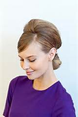 Bouffant, Baby: 6 Bouffant Hairstyles for The Holidays
