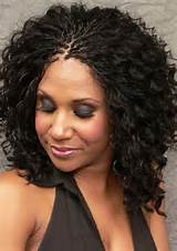 nice black hairstyles braids with weave