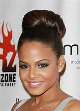 ... are some pretty bun hairstyles that look great at any holiday party