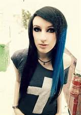emo hairstyles for girls finger wave hairstyles long faces hairstyle ...