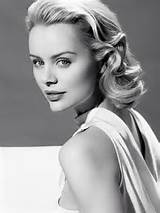 short hair grace Kelly style for wedding