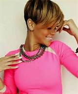Short Hairstyles African American Pixie Cut
