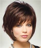 Cute Short Hairstyles for Women Over 40 / via