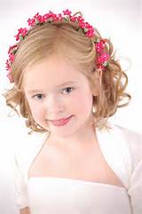 Short Pageant Hairstyles for Little Girls
