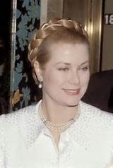 PRINCESS GRACE WEARING A BEUTIFUL HAIRSTYLE IN VERSAILLES DINNER IN ...