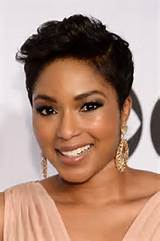 2014 Fall-Winter 2015 short shaven side hairstyles for black women