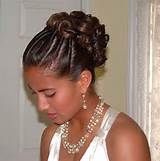 Bridal Hairstyle for Black Women Black Women Hairstyle for Wedding