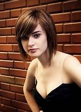 Medium short bob hairstyles bangs 2012 provide extremely modern ...
