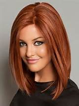 Straight-Long-Bob-Hairstyle-with-Beaytiful-Color-Medium-Length ...
