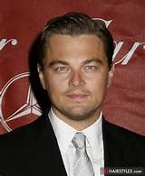 hairstyle leonardo dicaprio with his classic hairstyle slicked back ...