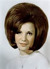 Cute Bouffant...another High School Graduation Photo? I know this ...