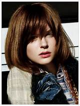 haircuts for medium hair with layers and side bangs
