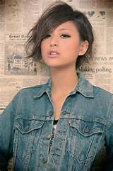 Cool Asian Hairstyle for Girl