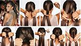 How to make easy and stylish hair style step by step DIY tutorial 15 ...