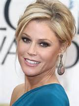 How-to: Julie Bowen's casual chignon at the Golden Globes