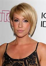 ... with Side Sweep Bangs Farah short bob hairstyles with side swept bangs