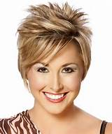 Short Spikey Hairstyles for Women with Colors