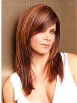 Long Layered Haircuts With Side Swept Bangs For Straight Hair Xpiptv