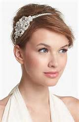 haircut and curls on the again aspect will look very lovely. Brides ...