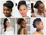 Popular Wedding Hairstyle Ideas for Black Women