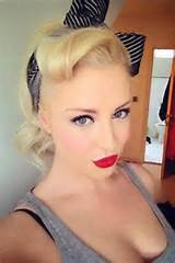 Photo Gallery of the Pin Up Hairstyles