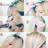 How to do the perfect side-swept bangs | followpics.co