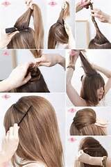 Easy way to add a bump to your hair!