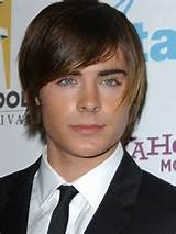 Zac-Efron-Moptop-Hairstyle-with-Side-Swept-Bangs-for-Men