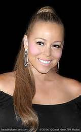 Mariah Carey in Elegant Formal Ponytail at Special Evening Event