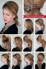The Vintage Pony – 15 Ways to Make Cute Ponytails via