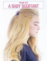 How To Make a Baby Bouffant Hairstyle