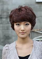 Cute Layered short red hair style for girls