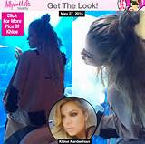 Half Up Top Knot Hairstyle — Get Khloe Kardashian's Trendy Look