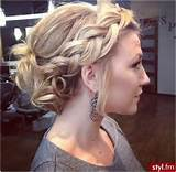 Chic Braided Updos: Updo Hairstyles Ideas