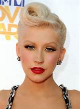 Celebrity style icons Christina Aguilera, Rihanna, Gwen Stefani and ...