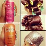 Roller wrap -- Recreate this look in with Capelli Care Orange Halo or ...