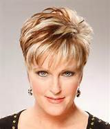 Short Hairstyles With Bangs for women over 40
