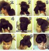 Natural Hairstyle Tutorial
