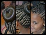 Photo Gallery of the Natural Braid Hairstyles For Kids