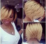 Stylish Short Bob Haircut: 2015 Hairstyles for Black Women / Pinterest