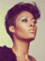 Nia Long Tousled Side Parted Pixie Cut African American Hairstyles