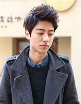 Gallery of Update Your Look with Korean Hairstyles For Men