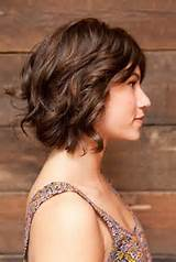 Brown Short Hairstyles for Wavy Hair 2014 / Pinterest