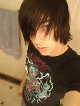 Emo Hairstyles for 2012 are Going Straight